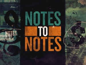NOTES TO NOTES